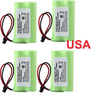 4-1400mAh-2-4v-Home-Use-Cordless-Phone-Battery-For-Uniden-BT-1007-BT1007-BT1015
