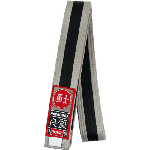 Hayabusa Youth Jiu-Jitsu Belt Gray//Black