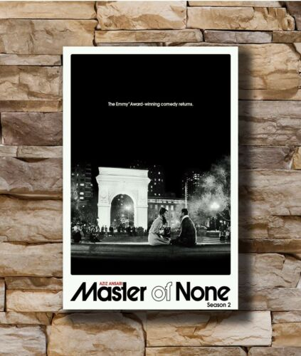 Hot Master of None Season 2 Aziz Ansari New Art Poster 40 12x18 24x36 T-3770