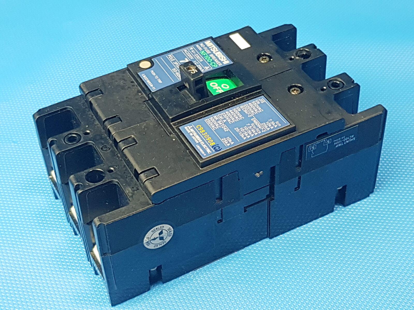 Mitsubishi NF100-CP No-Fuse Circuit Breaker 75A  Schutzschalter inkl. Rechnung