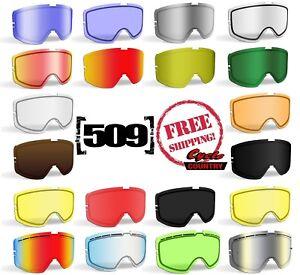509 Kingpin Goggle Lenses Lime Tint