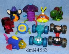 2001 McDonalds Tiger Action Toys Complete Set - Lot of 9, Boys & Girls, 3+