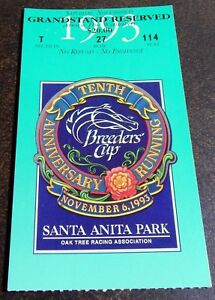 1993-SATURDAY-BREEDERS-CUP-ADMISSION-amp-GRANDSTAND-TICKETS-PLUS-PROGRAM-MINT