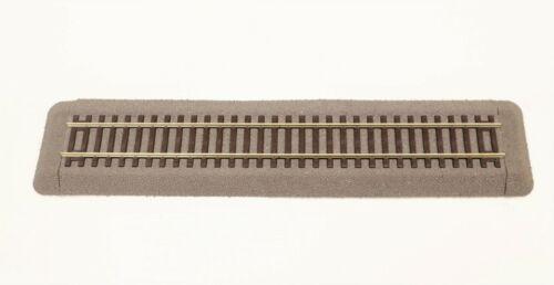 42510 E Roco Binario Espositivo modelli con massicciata e traverse in legno