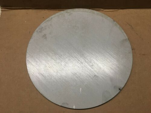 1//4 Inch 304L Stainless Steel Plate,Disc,Cut Out x 7 7//8 Inch Diameter