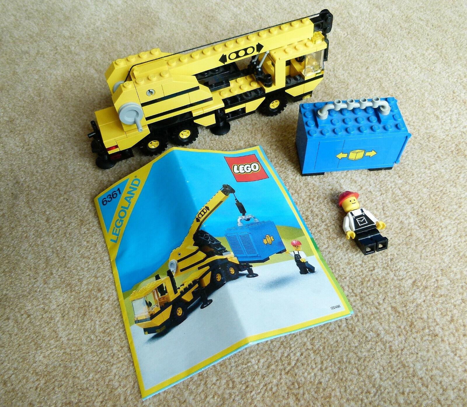 6 modelos lego recopilación 6361 6507 6524 6627 6658 6673 Legoland avión pala