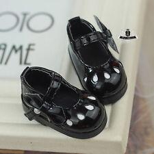 1/6 BJD Shoes Yosd Lolita black Shoes boots Dollfie Luts AOD DIM DOD Dollmore DZ