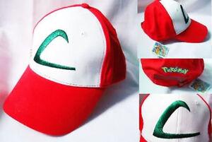 La imagen se está cargando Gorra-Ash-Entrenador-Pokemon-cosplay-disfraz- Pokemon 3868ec722cd