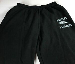 Mustang-Lacrosse-Sweat-Pants-Mens-L-XL-School-32-x-29-Actual-Kennesaw-Mountain