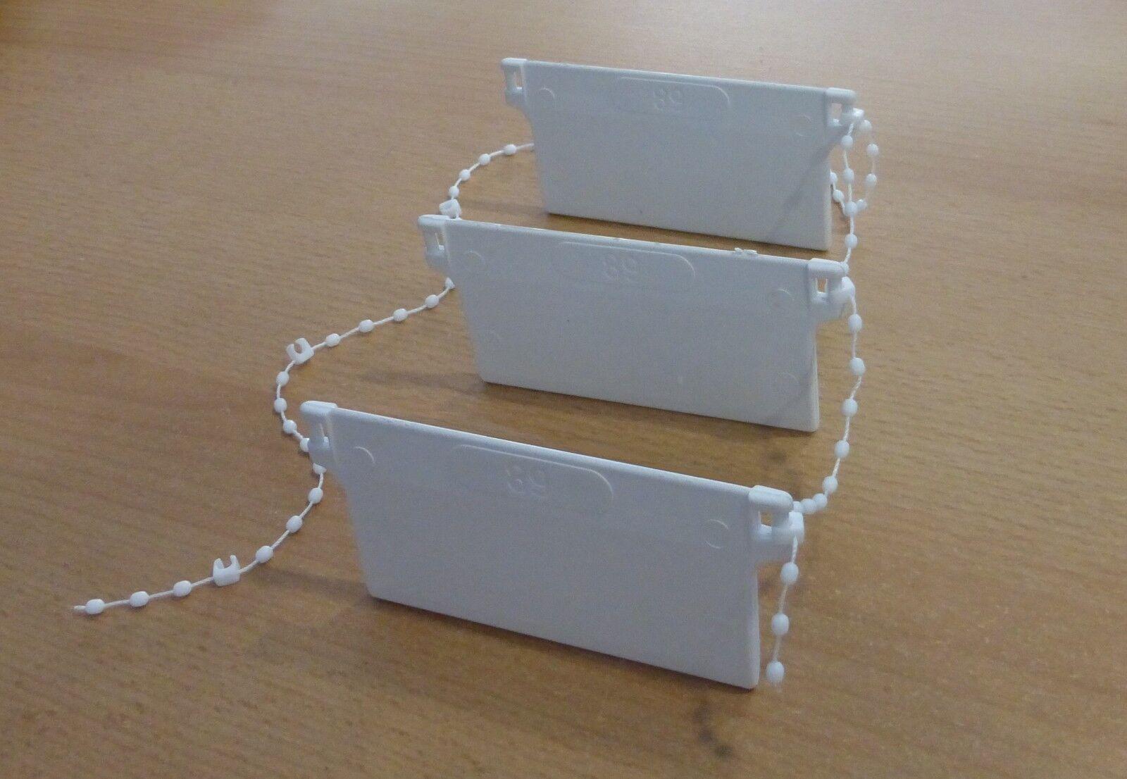 Beschwerungsplatte Gewicht für Lamellenvorhang Jalousie + Verbindungskette | Stil  Stil  Stil  5ef7a2