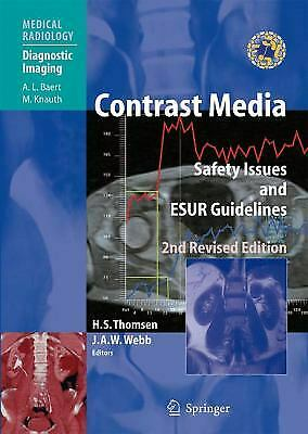 Contrast Media by Thomsen, Henrik S. -ExLibrary