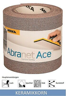 Abranet Ace Grinding Roll Sanding Net Grille from Mirka