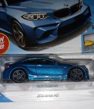 2016 BMW M2 #121 ✰ Candy Blau ; Grau pr5 ✰ 2018 I Hot Wheels Ww Hülle H