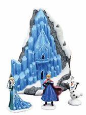 Disney Frozen Holiday Gift Set Lit Elsa's Ice Palace, Elsa, Anna & Olaf Dept 56