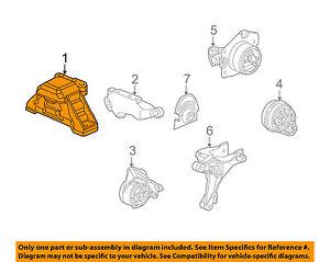 GM OEM-Engine Motor Mount//Torque Strut 15062381