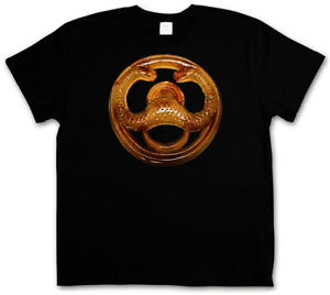 CONAN LE BARBARE Arnold Schwarzenegger Rétro Classique Film serpent Logo T-Shirt