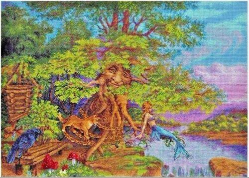 """New Counted Cross Stitch Kit /""""Lukomorye/"""" Fairy Land"""