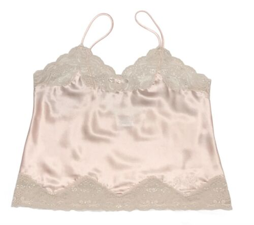 Vintage Christian Dior Logo Embroidered Pink Lace