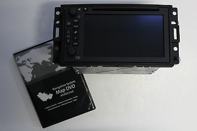 11w OEM FACTORY H3 HUMMER NAVIGATION GPS. MIDDLE EAST MAPS *WILL NOT WORK IN USA