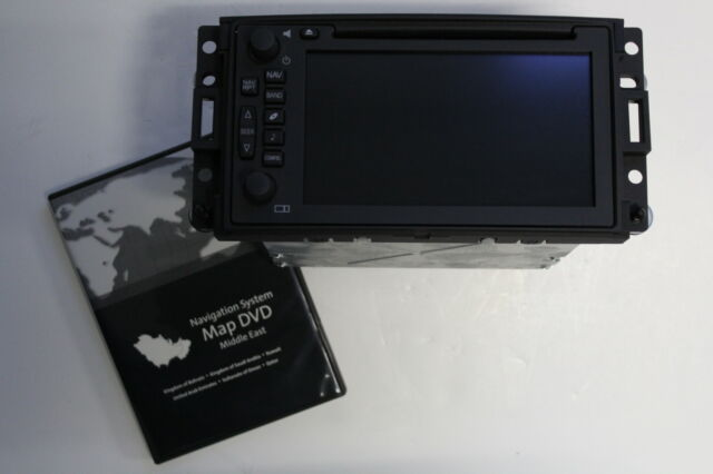 OEM FACTORY H3 HUMMER NAV NAVIGATION GPS. MIDDLE EAST MAPS *WILL NOT WORK IN USA