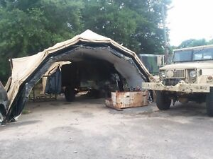 Image is loading Military-Army-Tent-DRASH-MX-Series-M-Shelter- & Military Army Tent DRASH MX Series M Shelter System 29 x 18 Portable ...