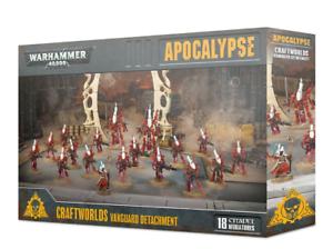 40K Warhammer Craftworlds Vanguard Detachment Battleforce Apocalypse Eldar