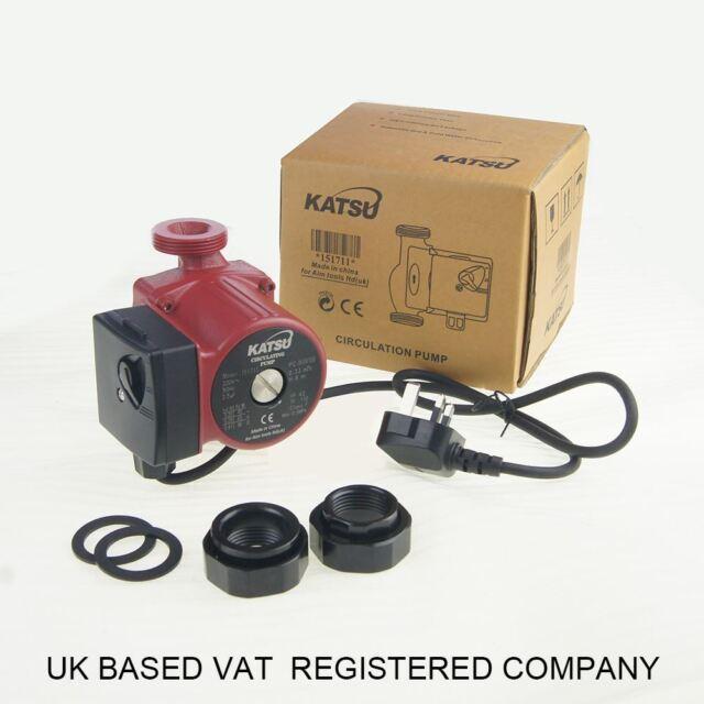 KATSU 151711 Central Heating Hot Water Circulation Circulating Pump ...