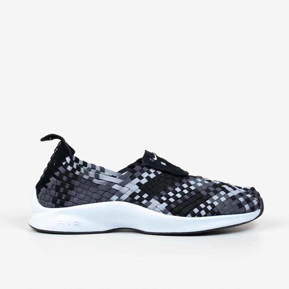 Nike Air Woven Noir Wolf Grey NIB Dark Grey Homme Chaussures NIB Grey 312422-006 Chaussures de sport pour hommes et femmes 2f975a