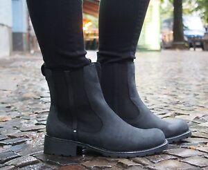 Clarks-Originals-Schuh-ORINOCO-HOT-schwarz-203569-Damenschuhe-Chelsea-Boot-NP120