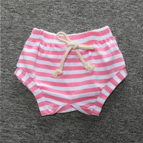 Infant Kids Baby Boy Girl Hot Pants Cotton Striped PP Children Shorts Bottoms