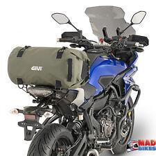 GIVI EA114KG Impermeable Motocicleta Asiento paquete de cola Bolsa Seca 30 Ltrs kaki verde