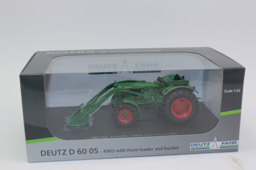 Frontlader  1:32 NEU in OVP UH 5307 Deutz Fahr D6005 4WD