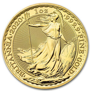 1 oz Gold Britannia 2020 - 100 Pounds Großbritannien - Goldmünze 999,9