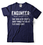 miniature 3 - Engineer T-shirt Funny Engineering T-shirt.Gift For Engineer Shirt Funny Tshirt