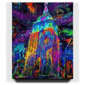 Blend-Cota-Lights-of-Hope-24-x-30-S-N-Limited-Edition-Gallery-Wrapped-Canvas