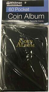 Coin-Album-Wallet-Stock-Book-for-2x2-Flips-Holders-Collection-Display-60-Pockets