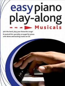 Easy-Piano-Playalong-Musicals-Piano-Book-And-Cd-New-Books