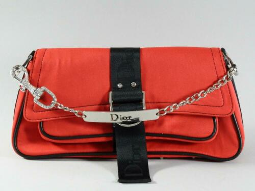 Christian Dior Red Jersey Hardcore Shoulder Bag w/
