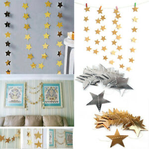 4M-Star-Paper-Garlands-Bunting-Baby-Shower-Wedding-Party-Banner-Hanging-Decor