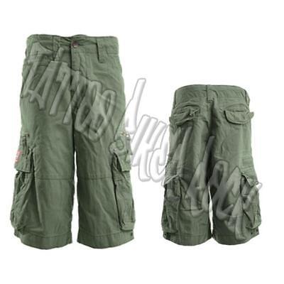 21dc9b5d3 Molecule Khaki Green Army Hiking Biker Cargo Combat Mens Shorts S, M, L, XL  | eBay