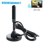 High Gain Freeview HD TV Aerial - Indoor Digital TV Aerial Antenna Booster DVB-T