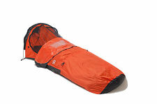 Aqua Quest Hooped Bivy Tent - One Person Single Pole Waterproof Shelter - Orange