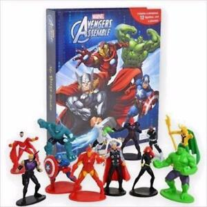 Avengers My Busy Book, Map, Figures
