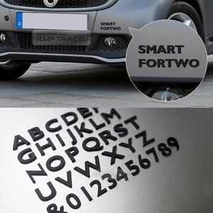 Black 3d letters 16mm emblems 111pcs auto alphabet numbers for car image is loading black 3d letters 16mm emblems 111pcs auto alphabet sciox Gallery