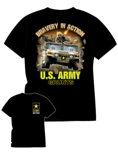 ARMY HUMMER T-SHIRT NWT 100% COTTON