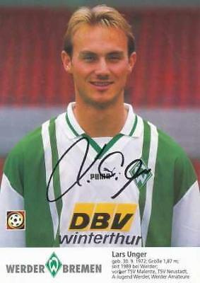 AK 1709 Uwe Harttgen SV Werder Bremen