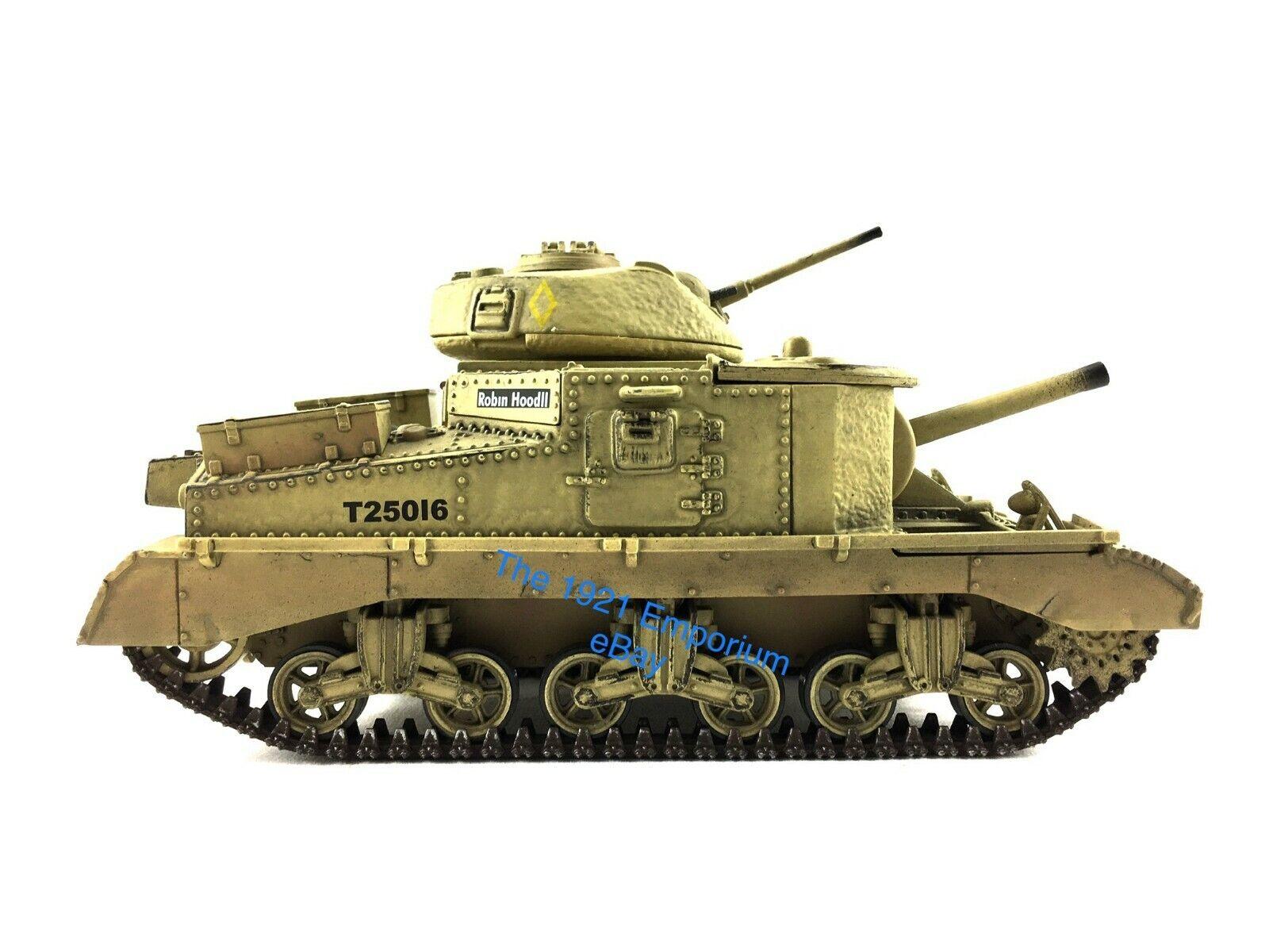 1 32 Diecast Unimax Toys Forces of Valor British M3 Grant Tank North Africa