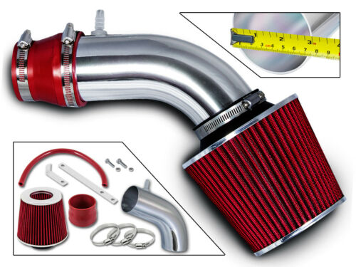 Filter BCP RED For 11-15 Accent Elantra Rio 1.6L 1.8L Ram Air Intake Kit
