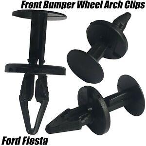 20x-Ford-Fiesta-Mondeo-Focus-Parachoques-delantero-Forro-Arco-Rueda-Clips-de-proteccion-contra
