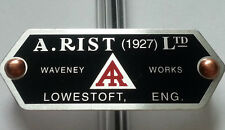 Austin 7 Seven Box Ruby Rist Horn Badge Superb & Copper Rivets